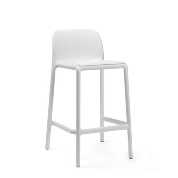 Silla Bar Faro Mini Blanco NARDI